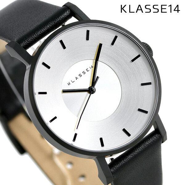 KLASSE14 クラス14 ヴォラーレ 36MM ユニセックス 腕時計 VO14BK001W シルバー×ブラック【あす楽対応】