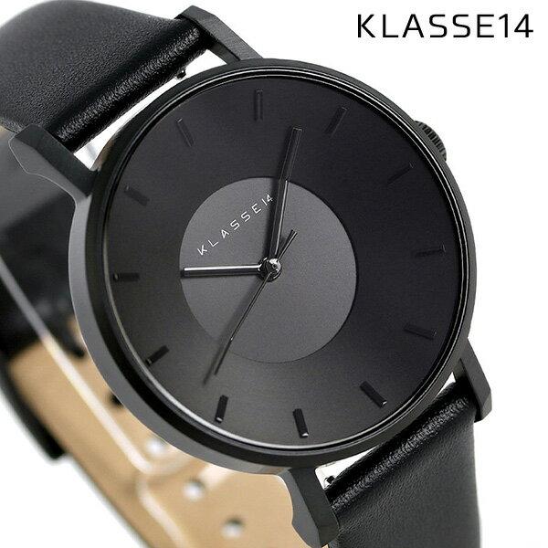 KLASSE14 クラス14 ヴォラーレ 36MM ユニセックス 腕時計 VO14BK002W オールブラック【あす楽対応】