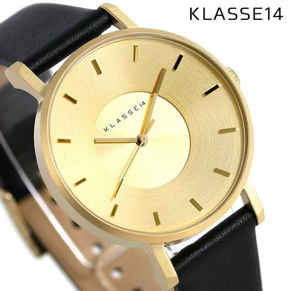 KLASSE14 クラス14 ヴォラーレ 36MM ユニセックス 腕時計 VO14GD001W ゴールド×ブラック【あす楽対応】