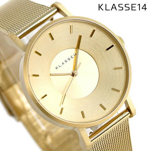 KLASSE14 クラス14 ヴォラーレ 36MM ユニセックス 腕時計 VO14GD002W ゴールド【あす楽対応】
