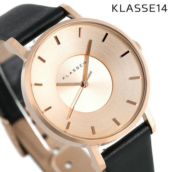 KLASSE14 クラス14 ヴォラーレ 36MM ユニセックス 腕時計 VO14RG001W ローズゴールド×ブラック【あす楽対応】