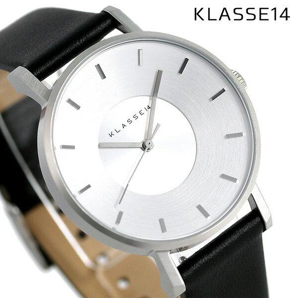 KLASSE14 クラス14 ヴォラーレ 36MM ユニセックス 腕時計 VO14SR001W シルバー×ブラック【あす楽対応】