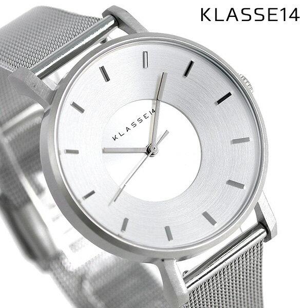 KLASSE14 クラス14 ヴォラーレ 36MM ユニセックス 腕時計 VO14SR002W シルバー【あす楽対応】