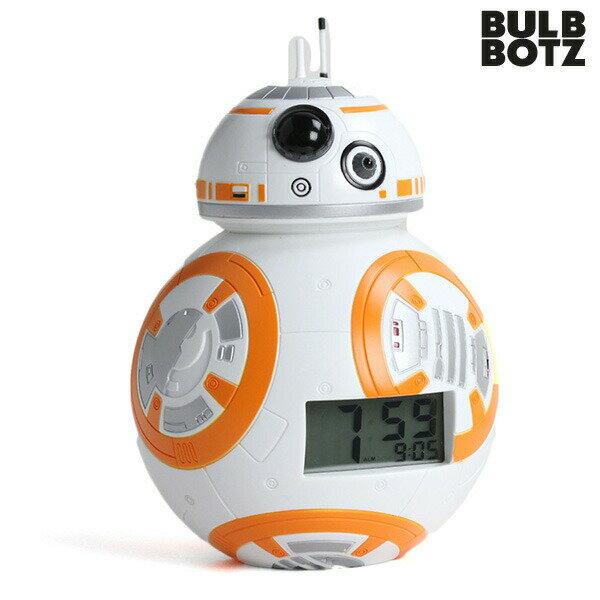 目覚まし時計 子供 キャラクター スターウォーズ BB-8 デジタル クロック BULBBOTZ 2020503 時計