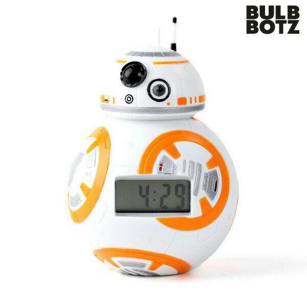目覚まし時計 子供 キャラクター スターウォーズ BB-8 ミニ mini デジタル クロック BULBBOTZ 2020633 時計【あす楽対応】