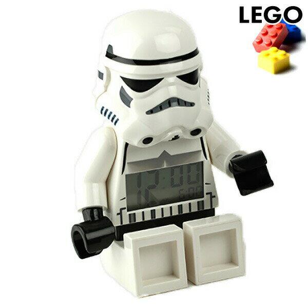 レゴクロック 目覚まし時計 ストームトルーパー 9002137 LEGO アラーム スターウォーズ 時計