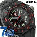 ルミノックス フィールド スポーツ ナイトビュー セントリー 腕時計 オールブラック×レッド ラバーベルト LUMINOX 02…