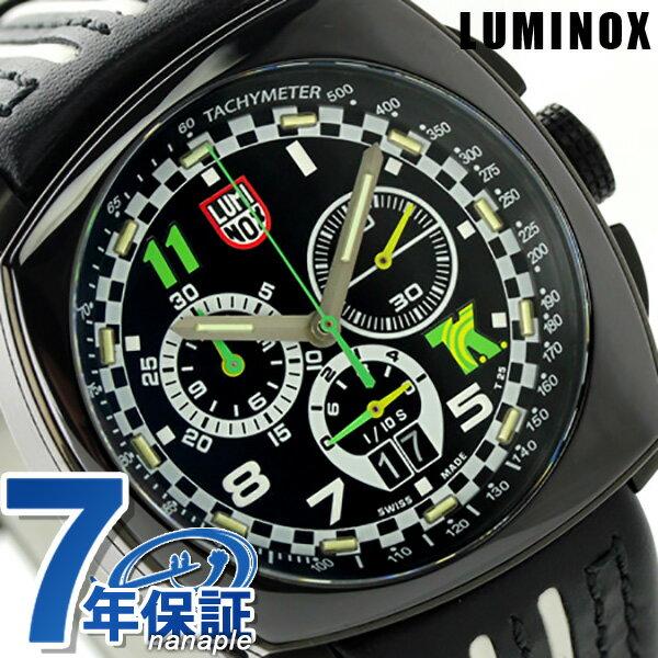 ルミノックス 1140シリーズ 腕時計 LUMINOX トニー カナーン クロノグラフ 1142 メンズ クオーツ ブラック×ホワイト 時計