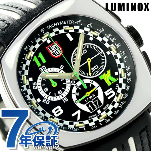 ルミノックス 1140シリーズ 腕時計 LUMINOX トニー カナーン クロノグラフ 1143 メンズ クオーツ ブラック×ホワイト 時計【あす楽対応】
