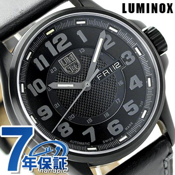 ルミノックス 1800シリーズ 腕時計 LUMINOX フィールド オートマチック デイデイト 1801.bo メンズ 自動巻き ブラック