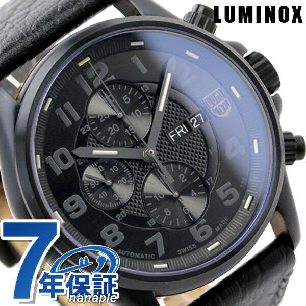 ルミノックス ブラックアウト 腕時計 LUMINOX フィールド スポーツ オートマチック レザーベルト 1861.BO