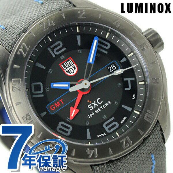 ルミノックス 腕時計 LUMINOX GMT 5120 スペースシリーズ メンズ 5121.gn クオーツ ダークグレー 時計【あす楽対応】