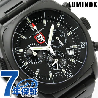 Lumi Knox Lockheed Martin collection watch SR-71 Black Bird series 2-limited model oar black LUMINOX 9062