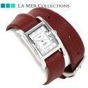 ラメール コレクション レザー レディース 腕時計 LMGBUENI002 LA MER ギフトボックス
