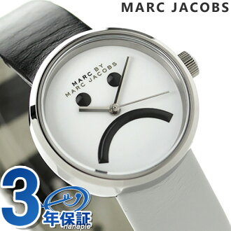 Mark by mark Jacobs Peggy 26 Lady's MBM1372 MARC by MARC JACOBS watch white X black