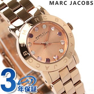 Mark by Mark Jacobs Amy Dexter Glitz clock Lady's pink gold MARC by MARC JACOBS MBM3219