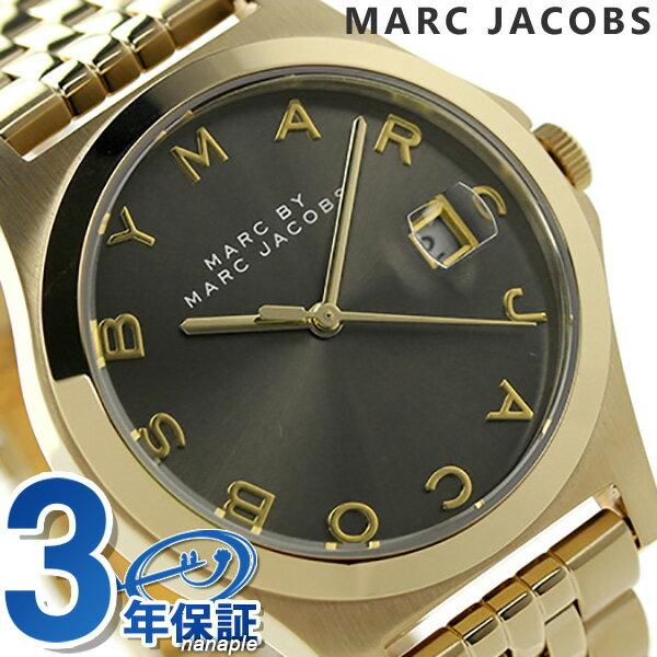 マーク バイ マーク ジェイコブス ザ スリム 37mm レディース MBM3349 MARC by MARC JACOBS 腕時計 クオーツ ブラウン×ゴールド【あす楽対応】