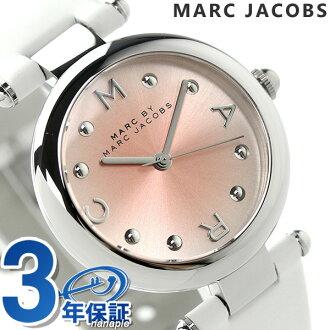 makubaimakujieikobusudotti 34 MJ1407 MARC by MARC JACOBS手錶粉紅×白