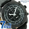 Nautica NST 11 quartz men watch NAI17520G NAUTICA oar black