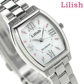 【今ならポイント最大32倍】 シチズン Q&Q リリッシュ ソーラー レディース H041-900 CITIZEN Lilish 腕時計 ホワイト 時計