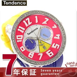Ten den crazy crystal chronograph TG460408 TENDENCE watch quartz multicolored