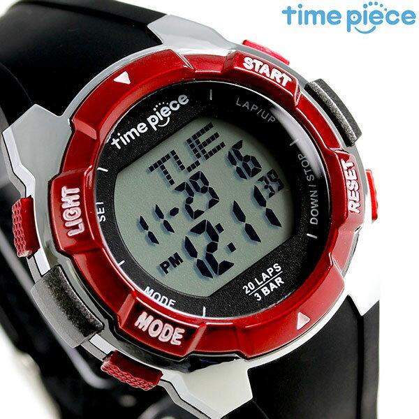 タイムピース クオーツ ランニングウォッチ TPW004 TPW-004RD 腕時計 時計