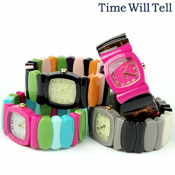タイムウィルテル レディース 腕時計 レインボー TIME WILL TELL 選べるモデル 時計