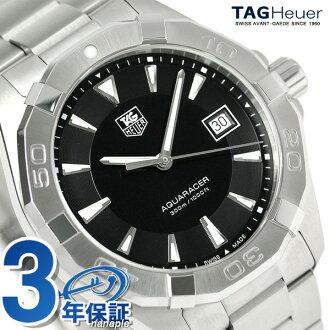 タグホイヤーアクアレーサー 300M quartz watch WAY1110.BA0928 TAG Heuer black new article