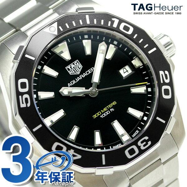 タグホイヤー アクアレーサー 300M クオーツ 腕時計 WAY111A.BA0928 TAG Heuer ブラック 新品 時計【あす楽対応】