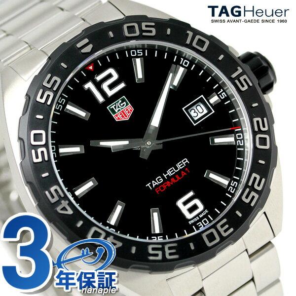 タグホイヤー フォーミュラ1 41MM クオーツ 腕時計 WAZ1110.BA0875 TAG Heuer ブラック 新品 時計【あす楽対応】