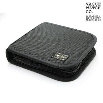 손목시계 케이스 요시다 가방 포터 손목시계 6개 수납 블랙 나일론×레더 컬렉션 박스 PORTER WC-M-001