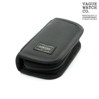 Two watch case Yoshida bag porter watch storing black nylon x leather collection box PORTER WC-S-001
