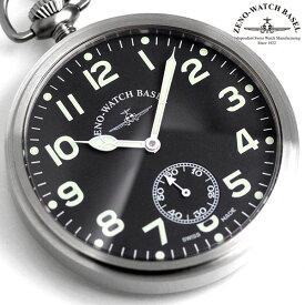 ZENO WATCH ゼノウォッチ 懐中時計 手巻き ZT-3533-almatt ブラック 時計