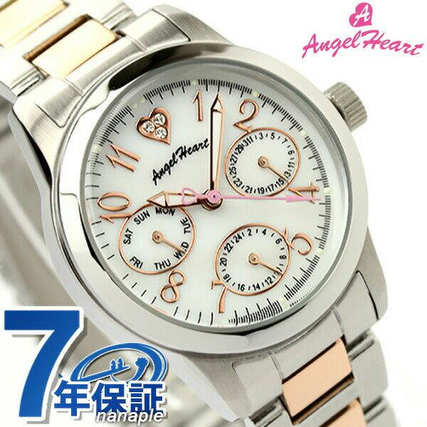 【ノベルティ付き♪】エンジェルハート AngelHeart 腕時計 レディース セレブ ホワイトパール CE30RSW 時計【あす楽対応】