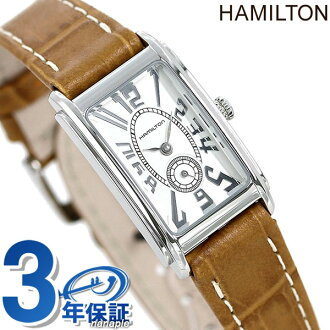 Hamilton quartz ARDMORE ladies c11211553 HAMILTON watch small second Ardmore white lined with