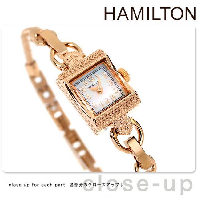 【当店なら!さらにポイント+4倍 25日10時〜】ハミルトン 腕時計 HAMILTON H31241113 レディ ハミルトン ヴィンテージ 時計【あす楽対応】
