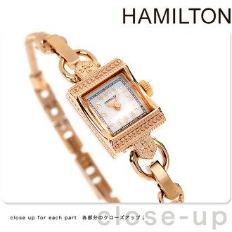 HAMILTON Hamilton Lady Hamilton Vintage lady Hamilton vintage Lady's watch mother of pearl pink gold SS H31241113
