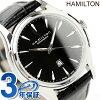 HAMILTON Hamilton Jazzmaster Lady Auto jazz master automatic Lady's watch black calf H32315731