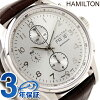 HAMILTON Hamilton Jazzmaster Maestro jazz master maestro men watch calf silver H32716859
