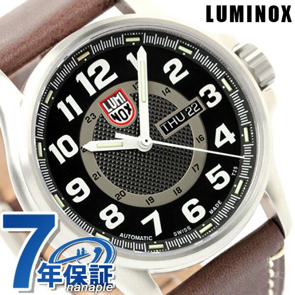 ルミノックス 腕時計 LUMINOX フィールド スポーツ オートマチック レザーベルト 1801 ブラック