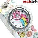 キッズ 子供用 女の子 腕時計 ドーナッツ パッチン 時計 watchitude 276 スラップウォッチ【あす楽対応】