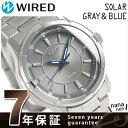 セイコー ワイアード グレー&ブルー ソーラー メンズ AGAD086 SEIKO WIRED 腕時計