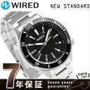 セイコー ワイアード ニュースタンダード メンズ 腕時計 AGAJ401 SEIKO ブラック【あす楽対応】