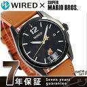 【完売しました!】セイコー ワイアード スーパーマリオ 限定モデル 腕時計 AGAK702 SEIKO WIRED ブラック