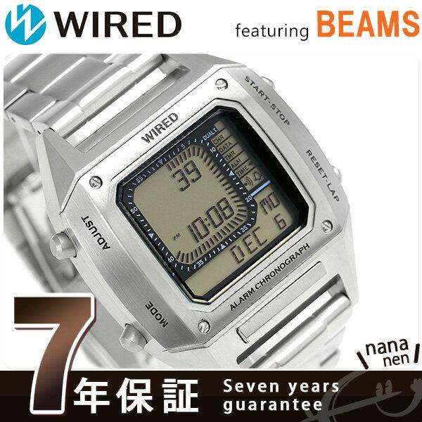 セイコー ワイアード BEAMS デジタルクロノグラフ 42mm AGAM401 SEIKO WIRED 腕時計 時計