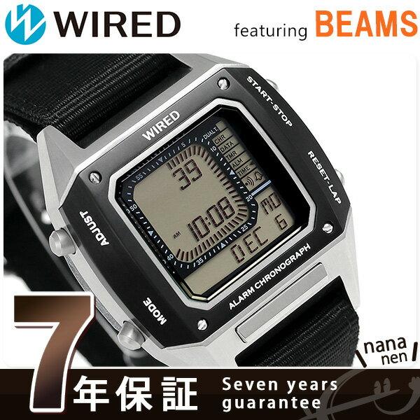 セイコー ワイアード BEAMS デジタルクロノグラフ 42mm AGAM403 SEIKO WIRED 腕時計 時計