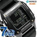 セイコー ワイアード BEAMS デジタルクロノグラフ 42mm AGAM404 SEIKO WIRED 腕時計 時計