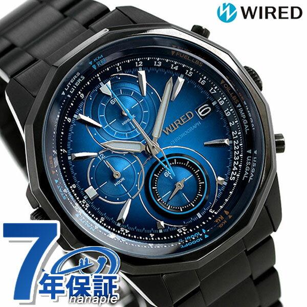 【クオカード付き♪】セイコー ワイアード クロノグラフ メンズ 腕時計 AGAW421