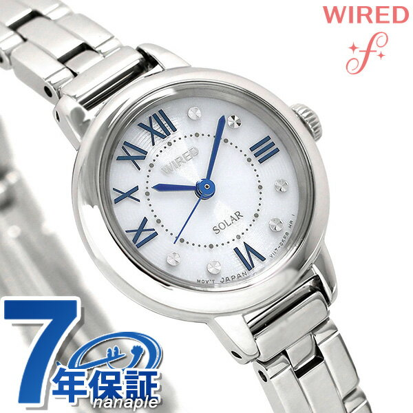 セイコー ワイアード エフ ソーラー レディース 腕時計 AGED095 SEIKO WIRED f シルバー 時計【あす楽対応】