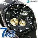 セイコー ワイアード コジマプロダクション 限定モデル メンズ 腕時計 AGAT729 SEIKO WIRED ブラック×ゴールド 時計【あす楽対応】